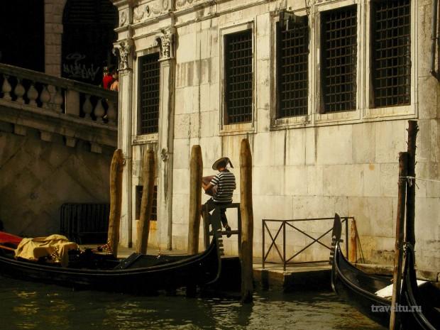 Венеция гондольеры 01