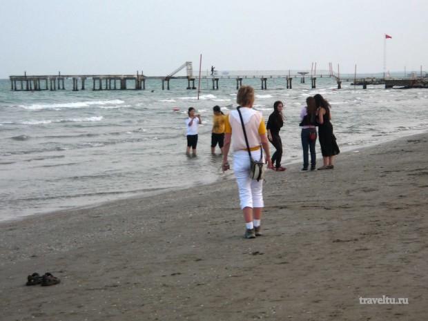 Остров Лидо. Пляж