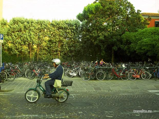 Остров Лидо. Велосипеды