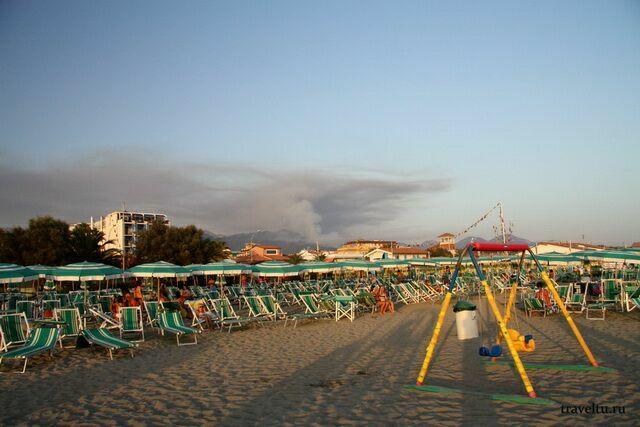 Пляжи курорта Масса