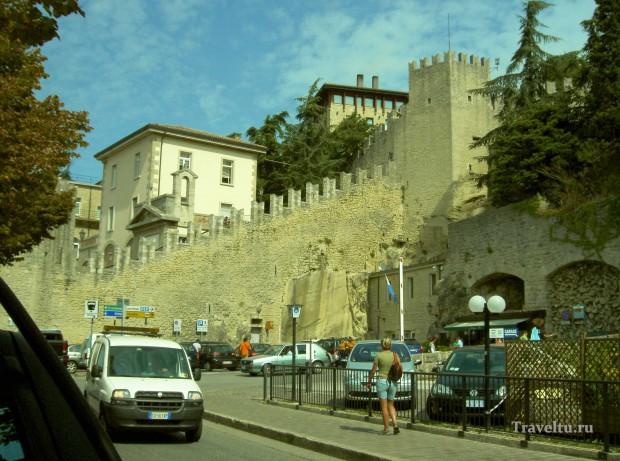 Поездка из Римини в Сан-Марино. Дорога вверх