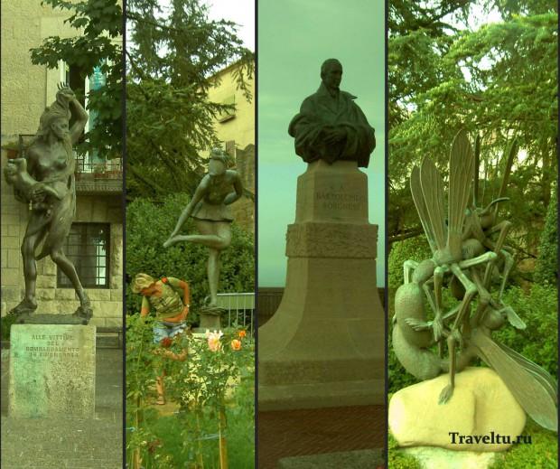 Поездка из Римини в Сан-Марино. Памятники