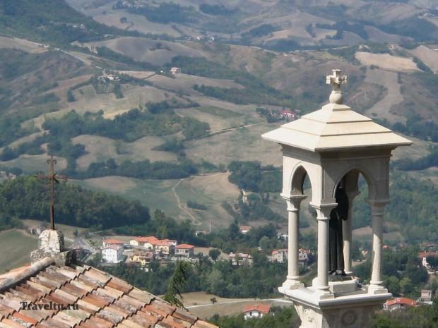 Поездка из Римини в Сан-Марино. Св. Марино
