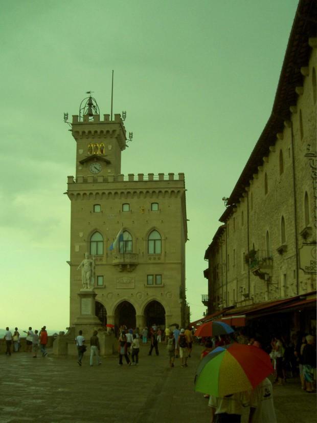 Поездка в Сан-Марино. Площадь
