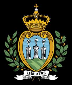 Свободная Республика Сан-Марино. Герб Сан-Марино