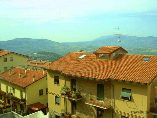 Свободная Республика Сан-Марино. Сан Марино. Жилые дома-001