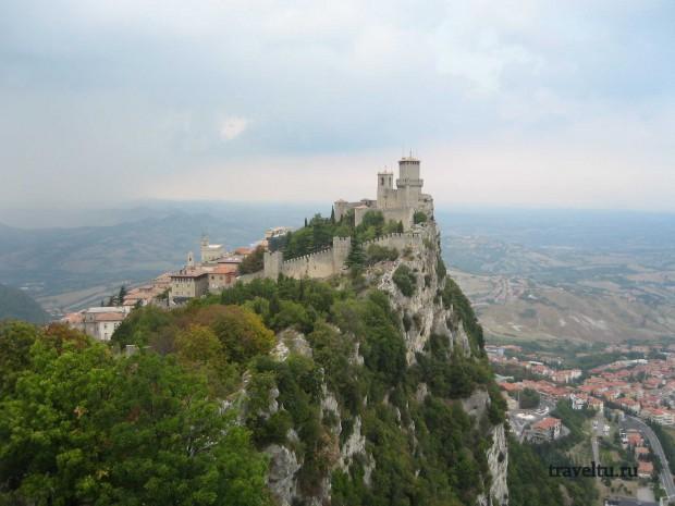 Свободная Республика Сан-Марино. Сан-Марино. Замок 02-001