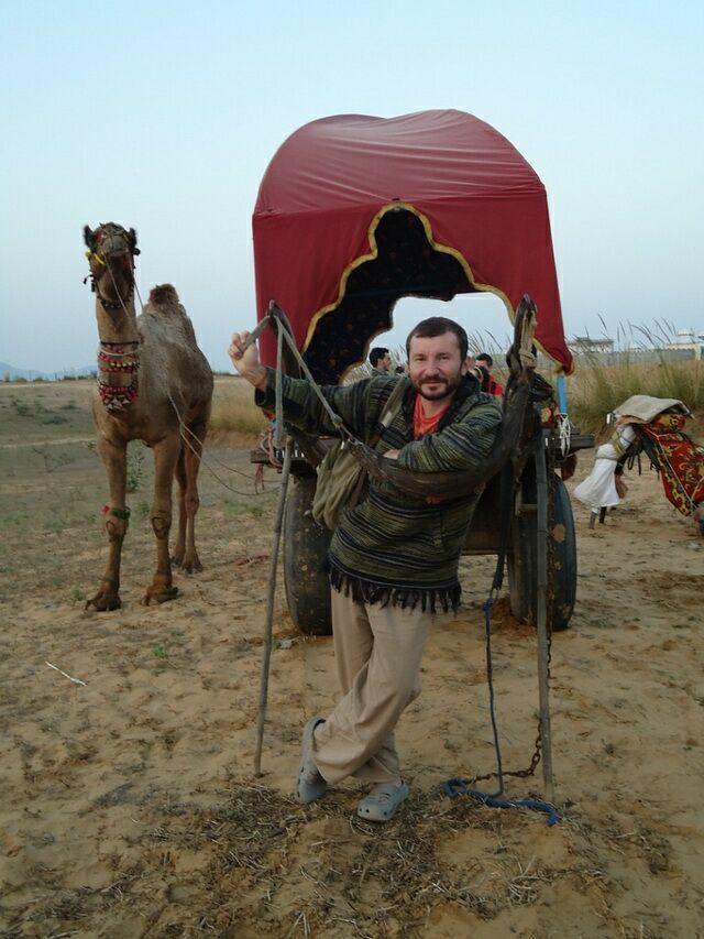 В пустыне Раджастана