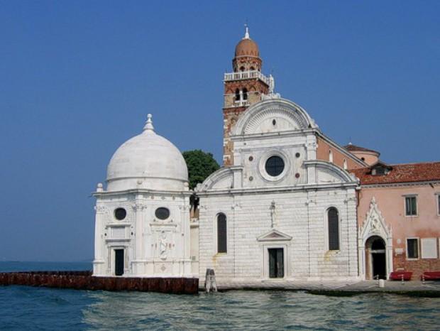 Острова Венеции. Сан-Микеле. Церковь, капелла и колокольня