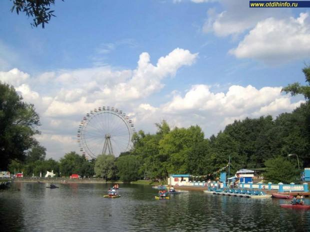 Где можно отдохнуть в Москве. Парк Горького