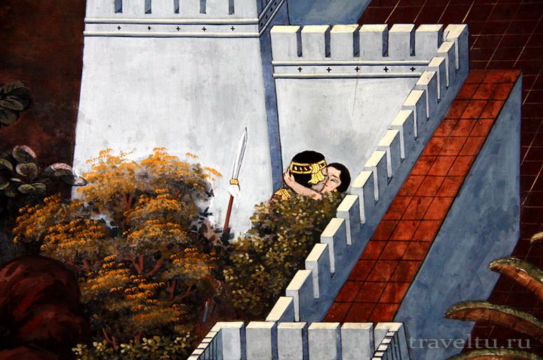 Королевский Дворец в Бангкоке и храм Изумрудного Будды. Любовная история