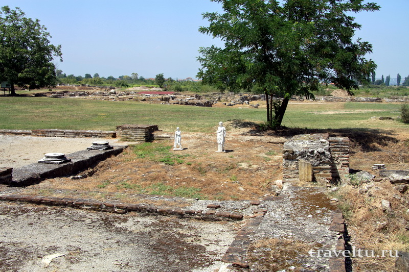 Поездка в Грецию. Дион