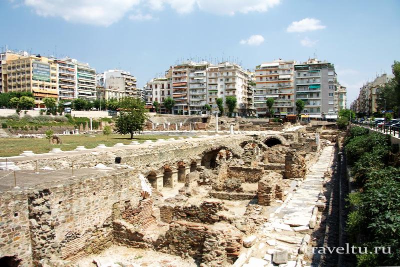 Поездка в Грецию.Салоники