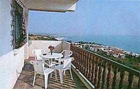 Греция. Полуостров Кассандра отель Alexsandros apartments балкон