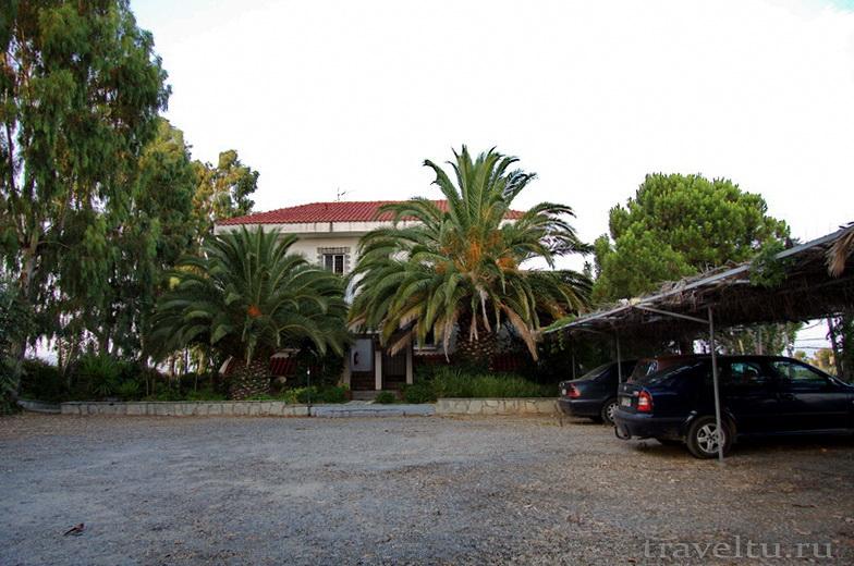 Греция. Полуостров Кассандра отель Alexsandros apartments Отель