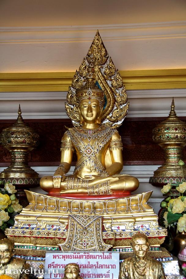Храм Ват Сакет. Бангкок. Будда