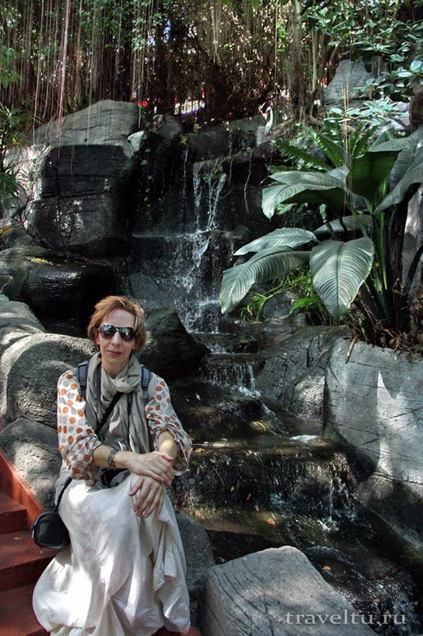 Храм Ват Сакет. Бангкок. Начало подъема