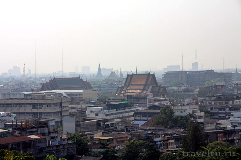 Храм Ват Сакет. Бангкок. Обзор
