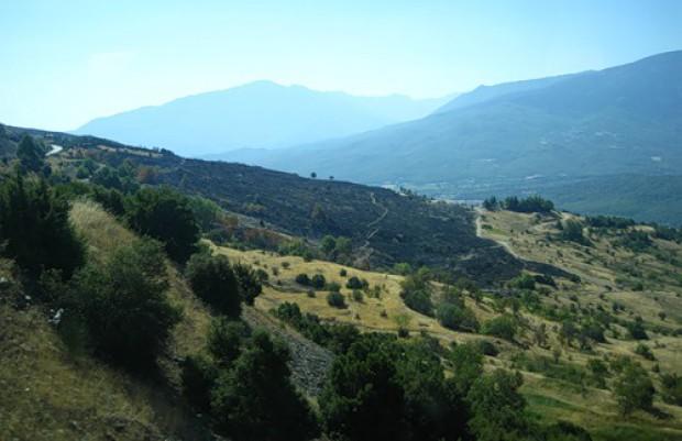 Дорога через перевал. Греция