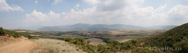 Греция. Долина по дороге на Кассандру