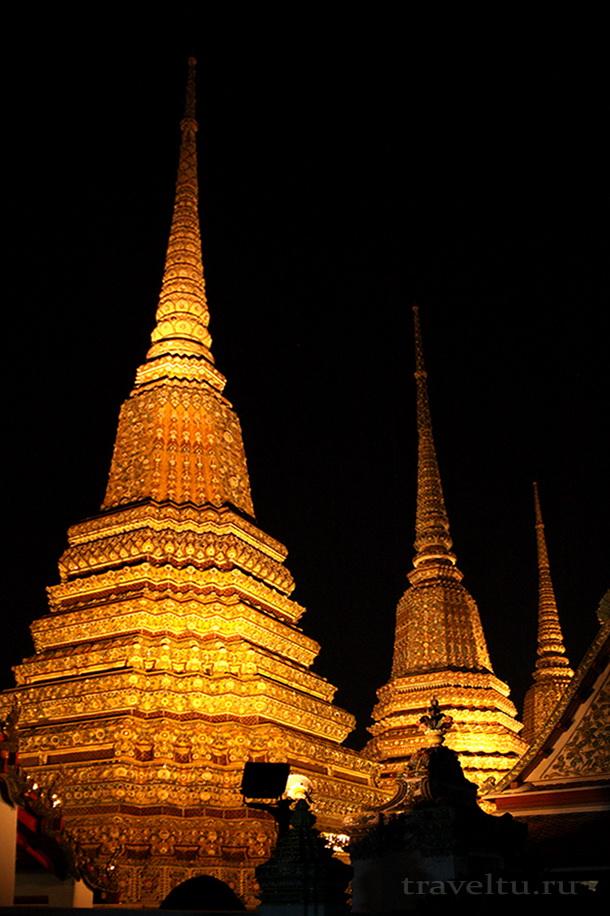 Тайские танцы. Храм Ват По