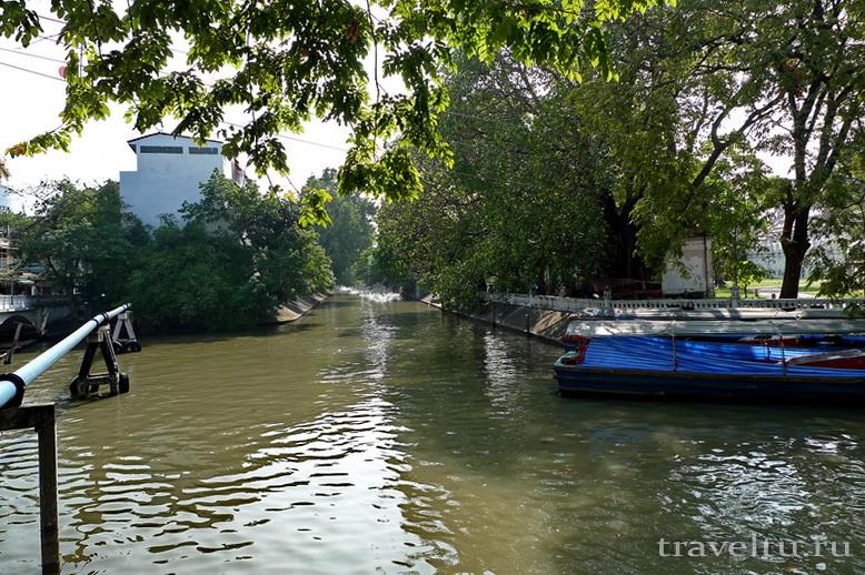Каналы Бангкока. Общий вид