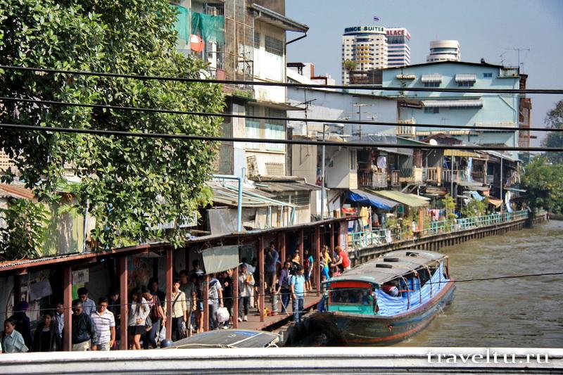 Каналы Бангкока. Пристань