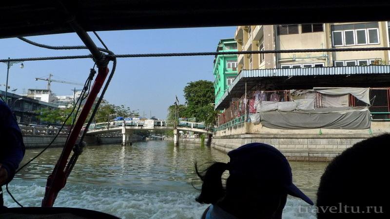 Каналы Бангкока. Вид канала