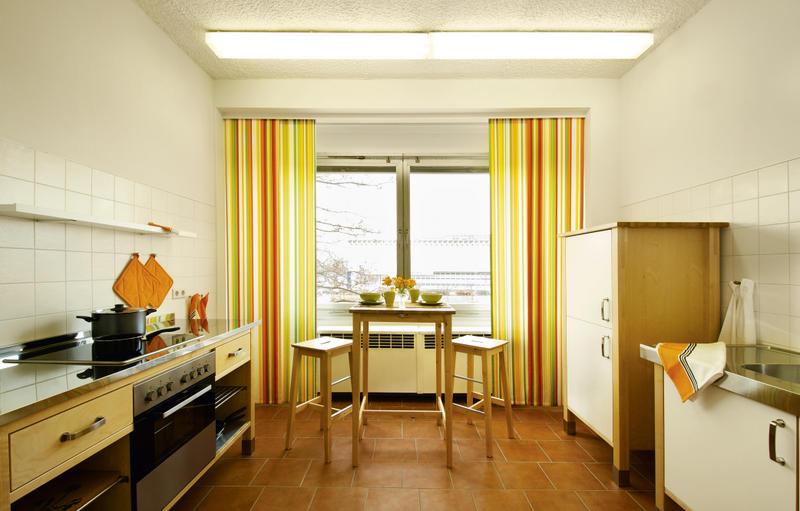 Отель в Дрездене Cityherberge. Кухня
