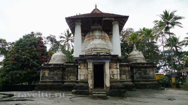 Шри-Ланка.Отзыв туристов. Буддийский храм