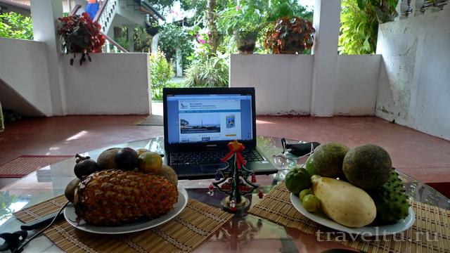 Отели Шри-Ланки. Хиккадува. Star Holiday resort. Отзыв. Вид из номера
