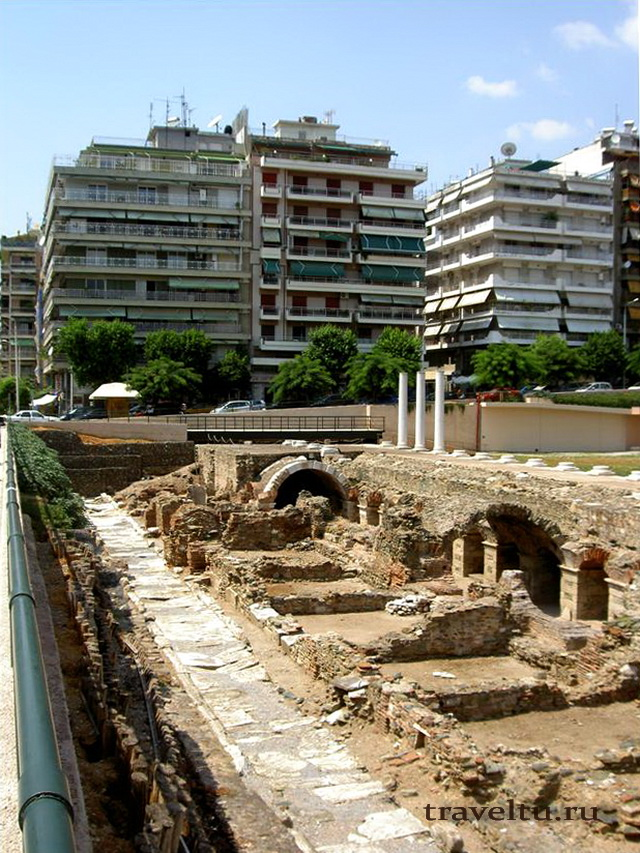 Салоники Греция двор