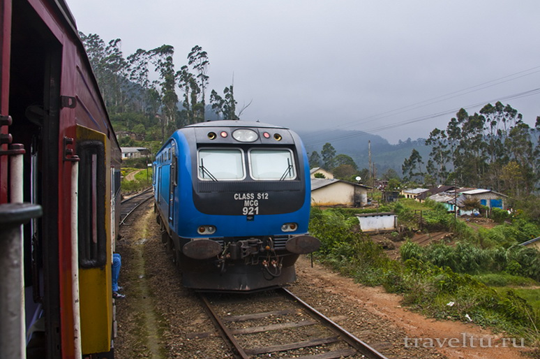 Транспорт Шри-Ланки. Поезда Шри-Ланки