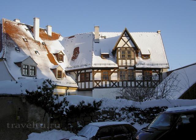 Старинный немецкий дом