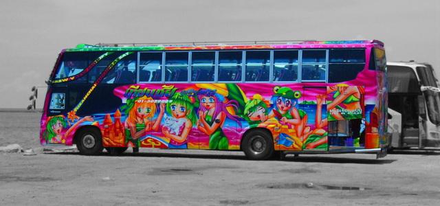 Автовокзалы Бангкока. Автобус Таиланда