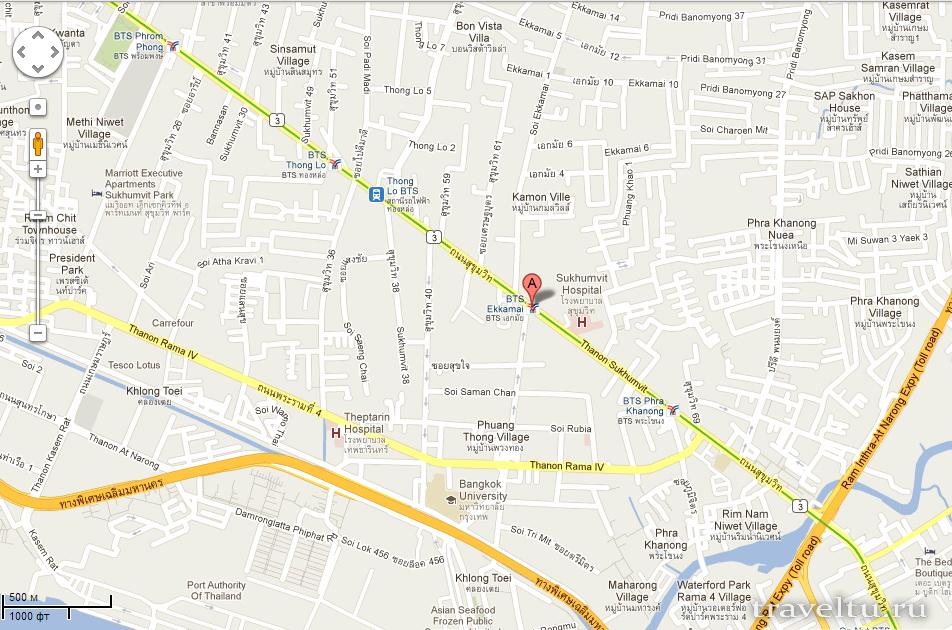 Автовокзалы Бангкока. Восточный автовокзал Ekkamai BTS Station