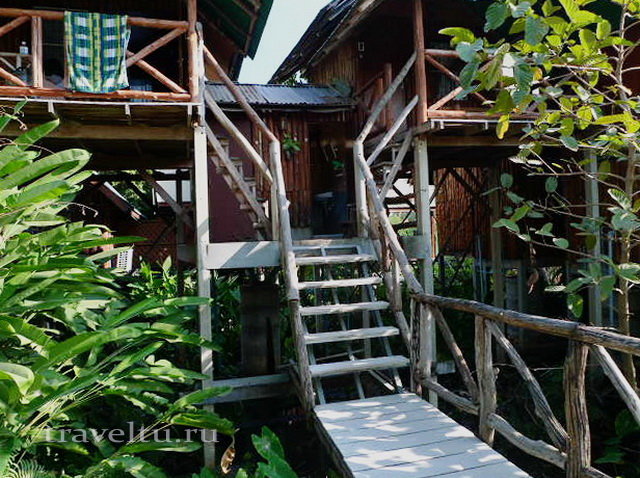 Таиланд. Гестхаус в Канчанабури