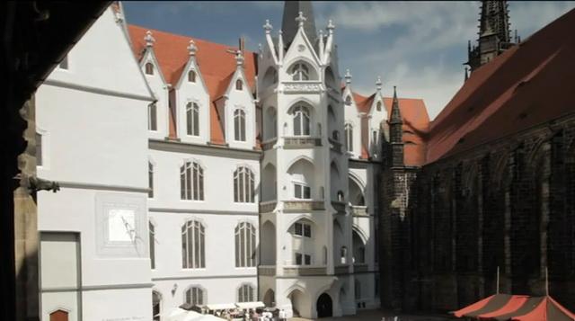 Замок Альбрехтсбург Германия