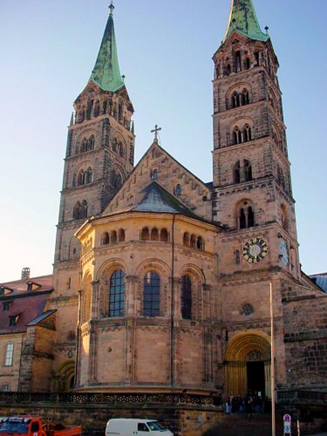 Собор в Бамберге. Романский стиль