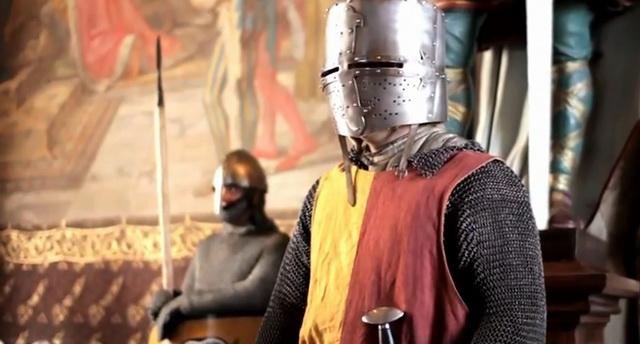 Историческая реконструкция. Рыцарь