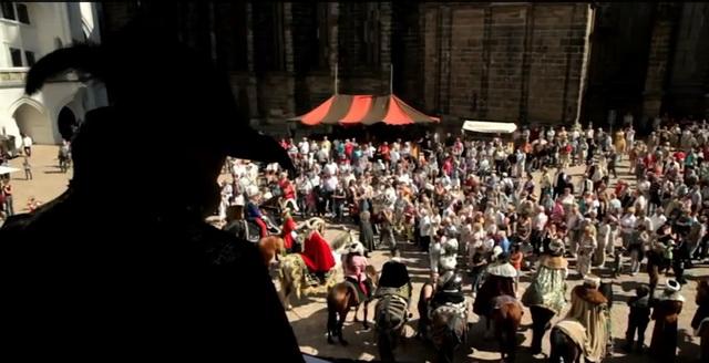 Альбрехтсбург. Историческая реконструкция на площади