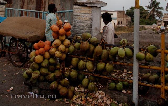 Разноцветные кокосы