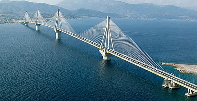 Rio – Antirio - самый длинный в Европе вантовый мост