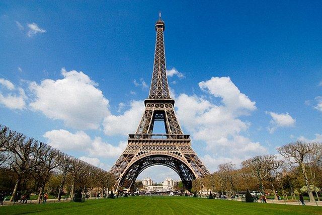 Десять самых романичных мест Европы. Эйфелева башня
