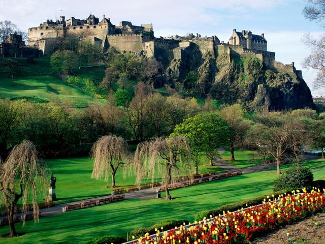 Десять самых романтичных мест Европы. Эдинбургский замок