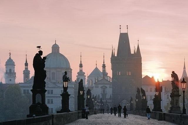 Десять самых романтичных мест Европы. Карлов Мост. Прага