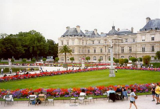 Десять самых романтичных мест Европы. Люксембургский сад. Париж