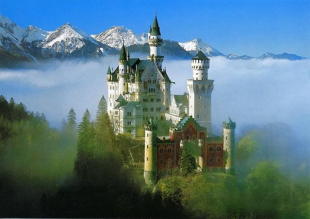 Десять самых романтичных мест Европы. Замок Нойшванштайн