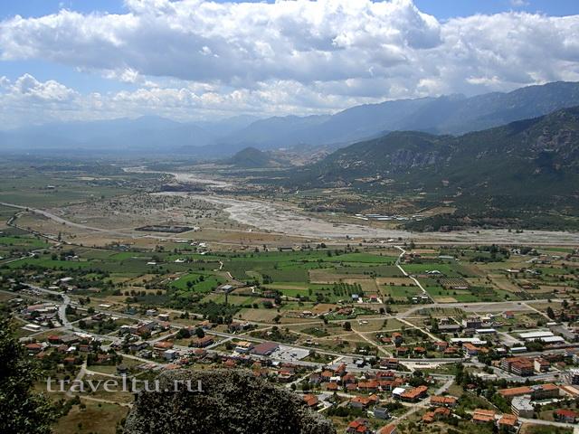 Каламбака и Фессалийская долина