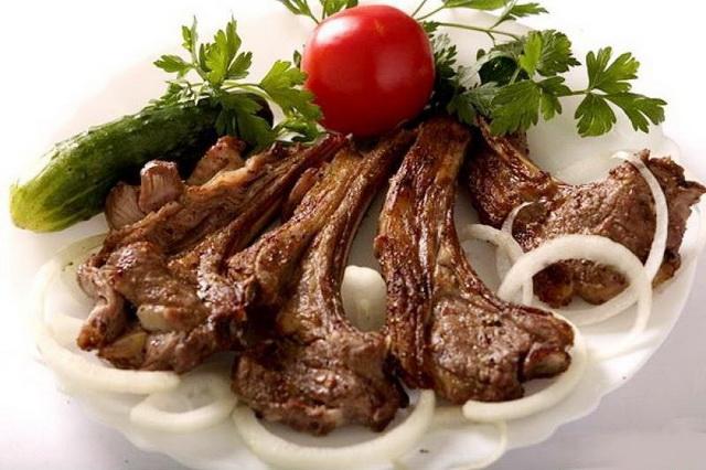 Еда в Греции.Греческие блюда. Паидакья.παϊδάκια